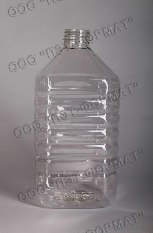 Бутылка ПЭТ 5 л. ПЭТ тара в Севастополе