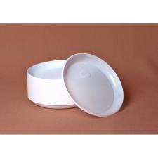 Тарелка пластиковая d 165 мм (100 шт.)